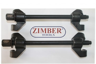 Drop Forged Coil Spring Compressors 270mm -ZIMBER TOOLS