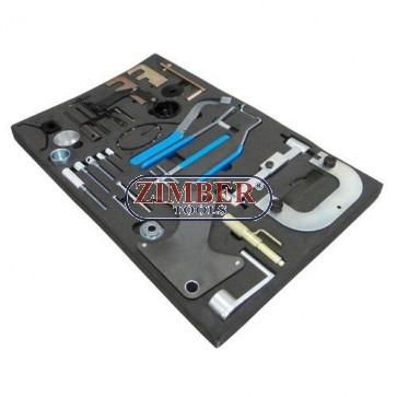 Engine Timing Tool Set OPEL \ RENAULT  \ NISSAN, ZR-36ETTS140 - ZIMBER - TOOLS