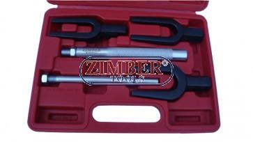 Ball Joint Separator Kit 5pc - ZIMBER TOOLS