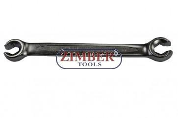 Flare Nut Wrenches10X12mm-150mmL - ZR-17WFN1012V01- ZIMBER TOOLS