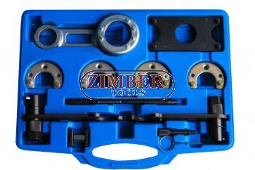 Engine Timing Set for ROVER KV6 PETROL,Land Rover Freelander ,13 pcs SET, ZT-04A2181 - SMANN-TOOLS