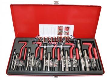 131PC Thread Repair Set (ZT-04044) - SMANN TOOLS.