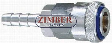 "Air line quick coupler 1/2"" ZDC 2 Steel  Japanese type- ZIMBER"
