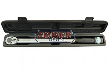 "Torque Wrench 1/2"" - 40-210Nm,  ZR-17TW12210 - ZIMBER - TOOLS"
