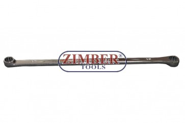Offset ring wrenches XXL, 17x19mm - (ZR-S06031719) - ZIMBER TOOLS