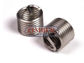Thread insert-stainless steel M14 x 1,25 x 16,4mm - ZIMBER- TOOLS