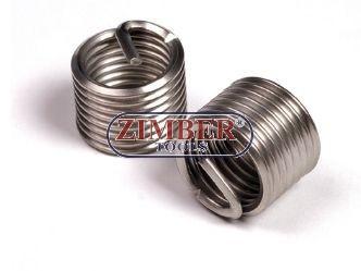 Thread insert-stainless steel M12 x 1,5 x 16,3mm - ZIMBER-TOOLS