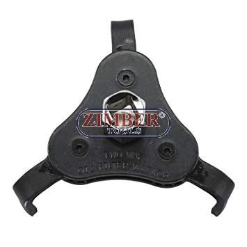 "3-way Oil Filter Wrench  (63-102mm)  for 3/8"" or 1/2"" - ZR-17OFW2W - ZIMBER TOOLS."