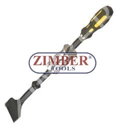 "This is a quality drop forged, heat treated slide hammer with 1"" bent chisel tip - ZIMBER TOOLS"