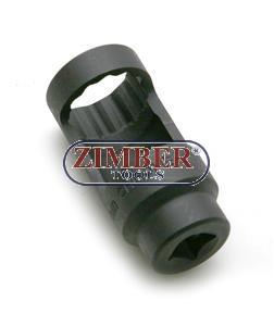 Injector socket 27-mm, ZR-36IS2778 - ZIMBER TOOLS