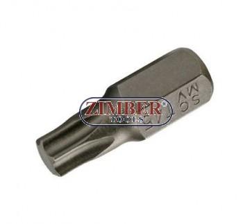 Bit TORX -Т55х30-mm, ZR-15B1030T55 - ZIMBER TOOLS