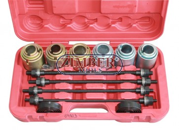 26PC Bearing & Bush Removal/Installation Kit (ZT-04803) - SMANN TOOLS.