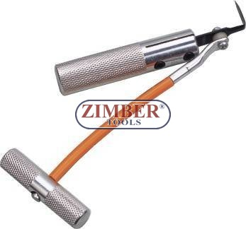 Car Window Glass Seal Rubber Removal Tool.- ZT-04095 - SMANN TOOLS.