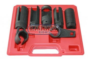 7pcs Oxygen Sensor Wrench Set - ZIMBER TOOLS