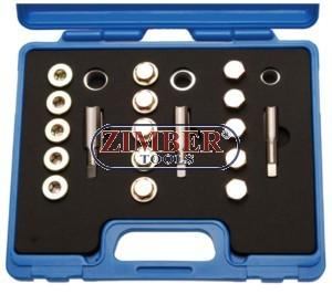 Oil drain repair kit 48pcs - ZIMBER