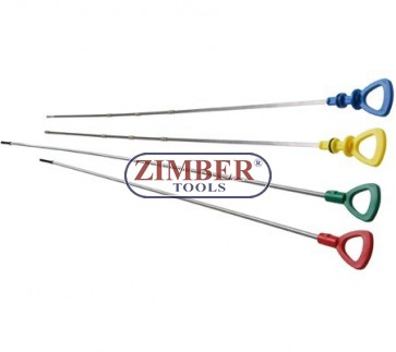 Oil Dipsticks for Mercedes Benz 4 pcs-ZR-36TDMBS04- ZIMBER-TOOLS