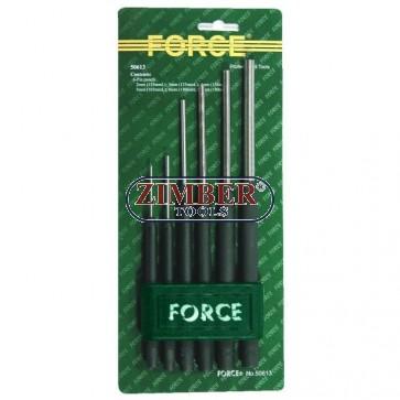 Pin punch set 6pc - FORCE