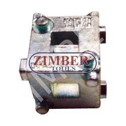 Fits most popular import, Chysler, Ford and GM vehicles with 4 wheel disk brakes - ZIMBER