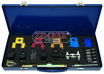 Twin cam engine locking set Ford, Honda, Land Rover, Rover, VW, Renault, Citroen, Peugeot, Fiat and Vauxhall/Opel.-ZIMBER