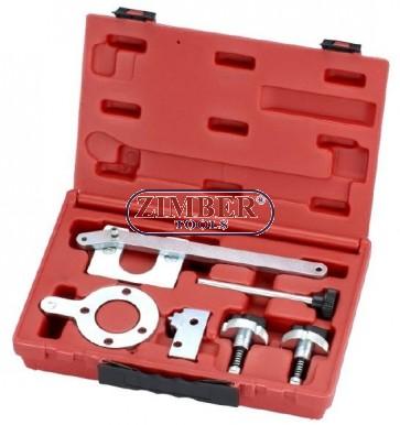 Engine timing tool set FIAT 1.3 JTD (Diesel) - ZIMBER