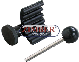 Crankshaft and fuel pump locking tools - 1 9TDI/SD, VW/Audi/Seat/Skoda -  ZIMBER TOOLS