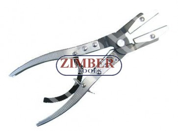 """HOSE PINCH-OFF PLIERS  10"""" - ZIMBER-TOOLS"""
