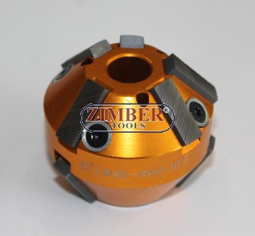 VALVE SEAT CUTTER  46mm-60mm 45° and 30° (SPARE PART FROM-ZR-36VRST, ZR-36VRST10) - ZIMBER-TOOLS