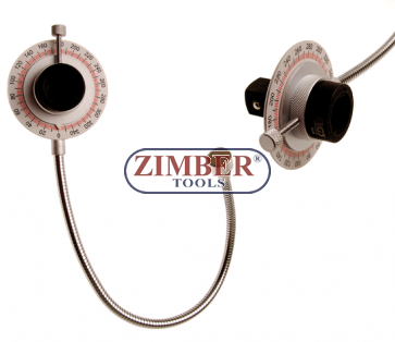 """Angular Gauge with magnetic arm 