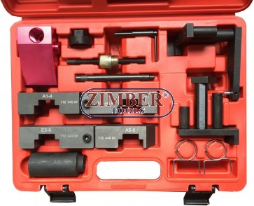 BMW Camshaft Alignment VANOS Timing Tool Set M62,  - ZT-04A2128 - SMANN TOOLS