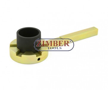 BMW Crankshaft Harmonic Balancer Holder (E39/E46/E60/E61/E81/E83/E90/E91) - ZT-04A4041 - SMANN TOOLS.