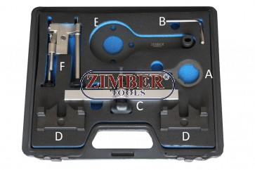 Engine Camshaft Timing Tool Kit For BMW  N63/S63/N74 V8 X6 550i 750i -ZR-36ETTSB74 - ZIMBER TOOLS.