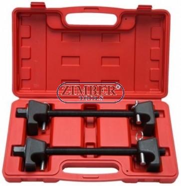 coil-spring-compressor-for-macpherson-struts-shock-absorber-car-garage-tool-300-mm-2pc-zt-04b2003-smann-tools