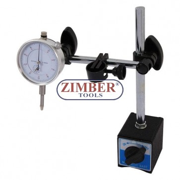 Dial Test Indicator With Magnetic Stand Holder 0-10mm, 3785- Neilsen.