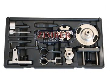 Diesel Engine Setting/Locking & HP Pump Removal VAG 2.7, 3.0TDi V6, 4.0, 4.2TDi V8  - ZR-36ETTS224 - ZIMBER TOOLS