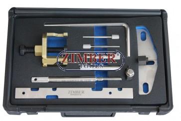 Diesel Engine Setting/locking Kit  Ford 1.4, 1.6tdci 1.8dt/tdci/tddi, 2.0tdci - Belt Drive,ZR-36ETTS256-ZIMBER TOOLS