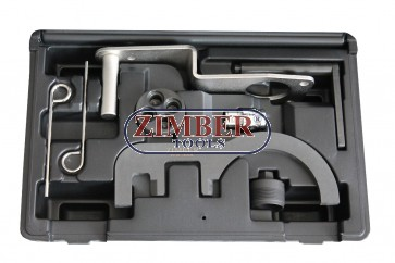 Diesel Engine Setting/Locking Tool Set BMW 2.0/3.0 D N47/N47S/N57  - ZR-36ETTSB70- ZIMBER TOOLS