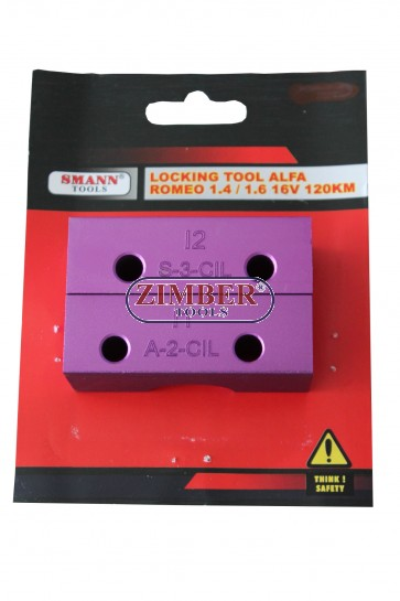 Engine Timing Tool For Alfa Romeo 1.6/1.4 TS - 16V - 2pcs - ZIMBER TOOLS.
