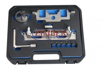 ENGINE TIMING CHAIN LOCK TOOLS KIT MERCEDES BENZ OM651 - ZR-36ETTSB73 - ZIMBER TOOLS