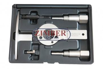 ENGINE TIMING LOCKING TOOL SET FIAT, ALFA ROMEO 1.6 DIESEL 1.9 . 2.0 2.4 JTD MULTIJET, ZR-36ETTS86  - ZIMBER-TOOLS