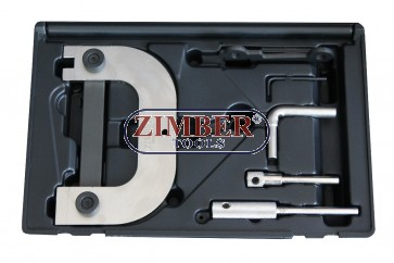 Engine Timing Locking Tool Set Fits to Renault, OPEL/VAUXHALL, NISSAN  1.4l 1.6l 1.8l 2.0l 16V- ZR-36ETTS300 - ZIMBER TOOLS.