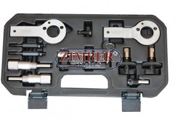 Engine Timing Tool Set Fiat, Alfa Romeo, Lancia, Opel, Suzuki, Saab 1.3, 1.9. 2.4 D, DT, CDTI, ZR-36ETTS85 - ZIMBER TOOLS