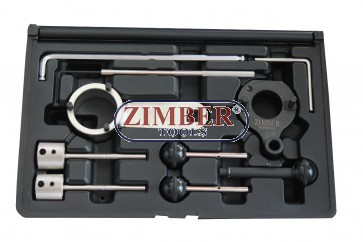 Engine Timing tool set VAG - Audi, WV, 1,6/2,0 CR TDI , ZR-36ETTS229 - ZIMBER-TOOLS.