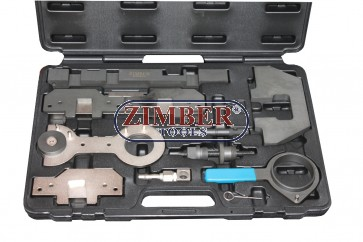 Engine Timing Tool Set BMW M40 . M44 .M50 . M52 . M54 . M56 DOHC.10pc- ZR-36ETTSB33 - ZIMBER TOOLS.