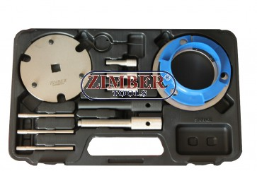 DIESEL ENGINE SETTING/LOCKING & INJECTION PUMP TOOL KIT 2.0D, 2.2D, 2.4D DURATORQ -CHAIN DRIVE - Ford,Citroen,Peugeot, Fiat:Ducato,Jaguar:X-Type ,Land Rover:DefenderTd4 - ZR-36ETTS278 - ZIMBER TOOLS.