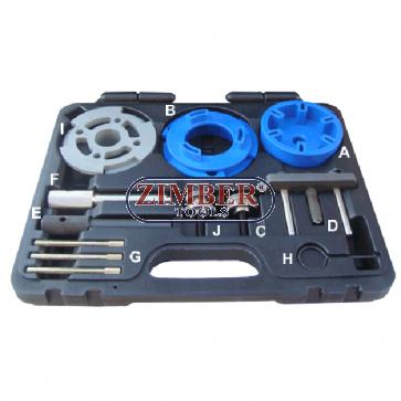 Ford Ranger / Mazda Duratorq 2.0, 2.2, 2.4 Engine Timing & 3.2L Injector Pump Locking Kit - ZR-36ETTS240 - ZIMBER TOOLS.