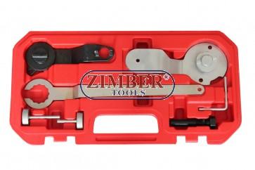 PETROL ENGINE SETTING/LOCKING KIT VAG 1.2/1.4 TSI - BELT DRIVE - ZT-04A2351 - SMANN TOOLS.