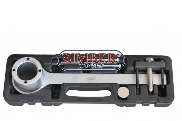 Engine Crankshaft Pulley Remover Tool Set-Jaguar-Land Rover V8-Chain Drive - ZR-36CPR01 - ZIMBER TOOLS.