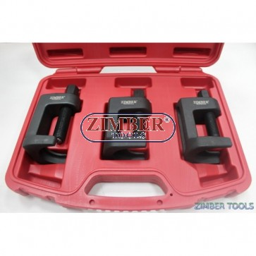 Ball Joint Remover Set 3pc - ZR-36BJS02 - ZIMBER- TOOLS.