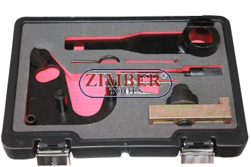 Timing tool kit for Renault,  Opel, Nissan 1.6/2.0  DCI chain drive diesel engines -  ZT-04A2118D- SMANN TOOLS.