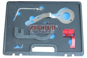 Timing Chain Tool Kit BMW/Mini -2014  1,5lt 3 cylinder (B37) and 2,0lt 4 cylinder (B47) Diesel engines - ZT-04A2376D - SMANN TOOLS.